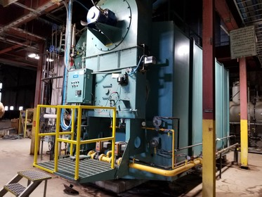 Cleaver Brooks DL52-RH Watertube Boiler with Bryan Steam Deaerator System