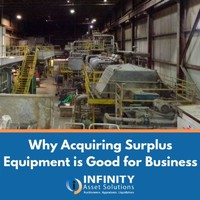 Why Acquiring Surplus Equipment is Good for Business