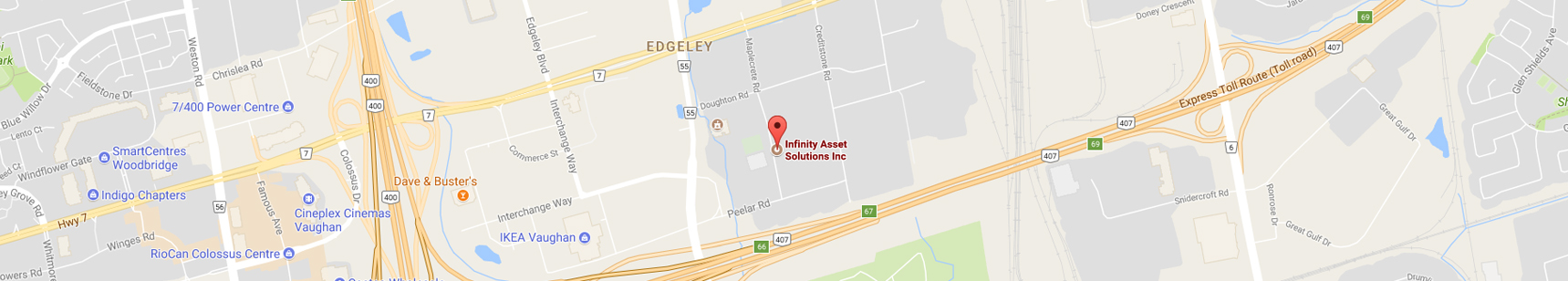 Infinity Asset Solutions Inc. Location